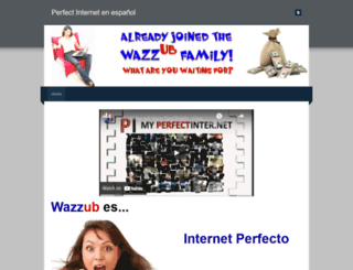 wazzub-hispano.weebly.com screenshot