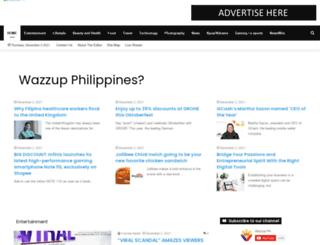 wazzup.ph screenshot