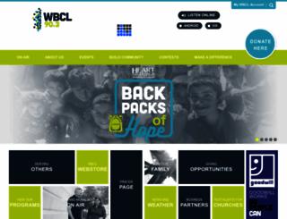 wbcl.org screenshot