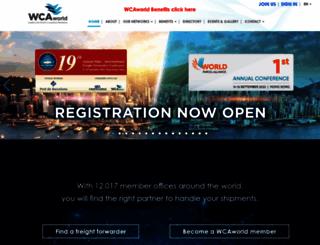 wcaworld.com screenshot