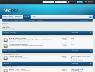 wcddl.net screenshot
