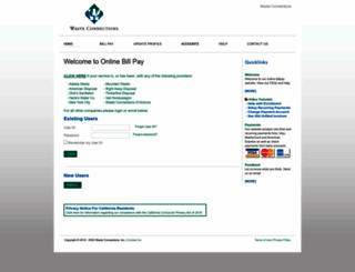 wcicustomer.com screenshot