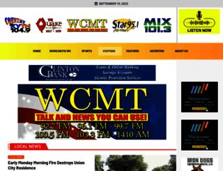 wcmt.com screenshot