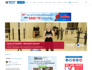 wcny.org screenshot