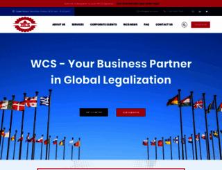 wcss.com screenshot