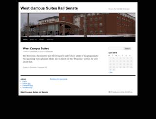 wcssenate.truman.edu screenshot