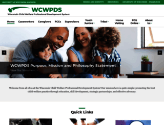 wcwpds.wisc.edu screenshot