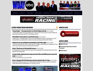 wdaz.com screenshot