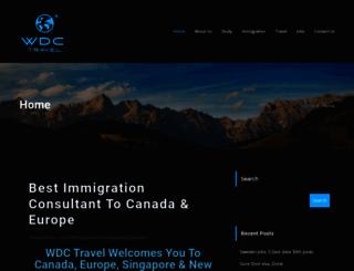 wdctravel.com screenshot