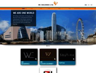we-holdings.com screenshot