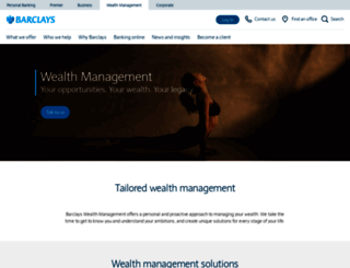 wealth.barclays.com screenshot