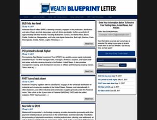 wealthblueprintletter.com screenshot