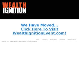 wealthignitionlive.com screenshot