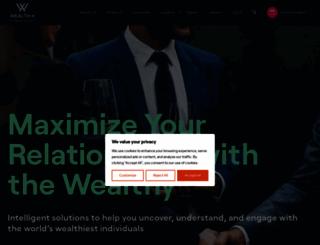 wealthx.com screenshot