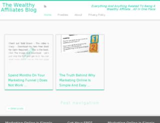 wealthy-affiliates.super-miling.com screenshot