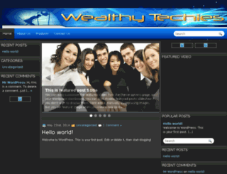 wealthytechies.com screenshot