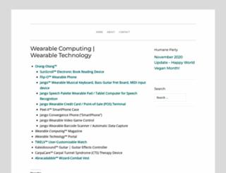 wearabletechnology.com screenshot