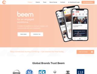 wearebeem.com screenshot