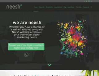 weareneesh.com screenshot