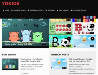 weareyokids.com screenshot