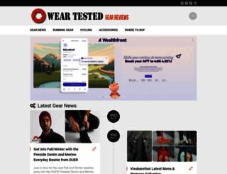 weartested.org screenshot