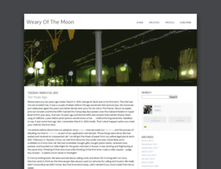wearyofthemoon.typepad.com screenshot