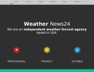weather-news24.com screenshot
