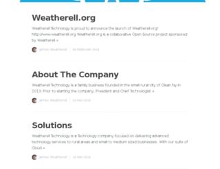 weatherell.com screenshot