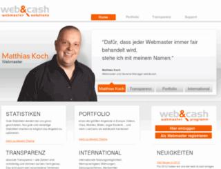 web-and-cash.com screenshot