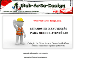 web-arte-design.com screenshot