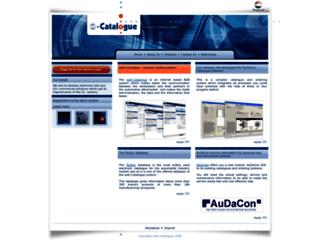 web-catalogue.eu screenshot