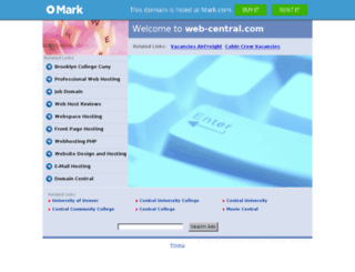 web-central.com screenshot