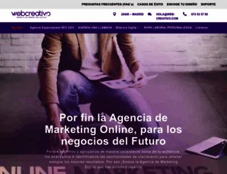 web-creativo.com screenshot