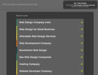 web-design-company-india.org screenshot