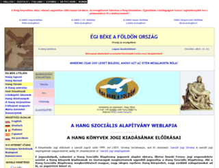 web-hang.hu screenshot