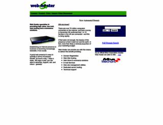 web-hoster.co.uk screenshot