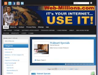 web-millions.com screenshot