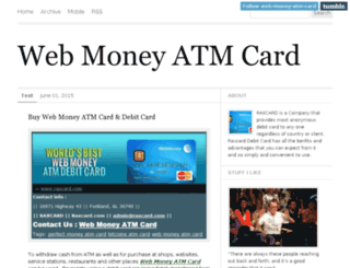 web-money-atm-card.tumblr.com screenshot