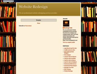 web-site-redesign.blogspot.com screenshot