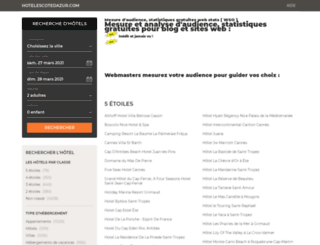 web-stats.org screenshot