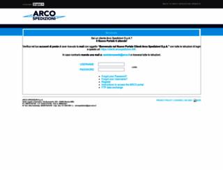 web.arco.it screenshot