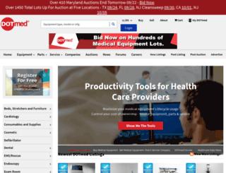 web.dotmed.com screenshot