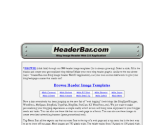 web.headerbar.com screenshot