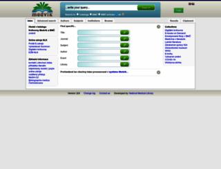 web.medvik.cz screenshot