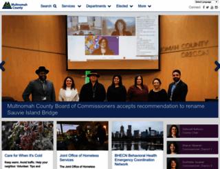 web.multco.us screenshot