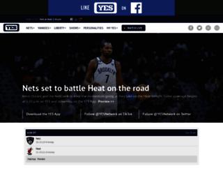 web.yesnetwork.com screenshot