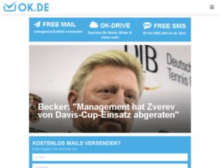 web1.ok.de screenshot