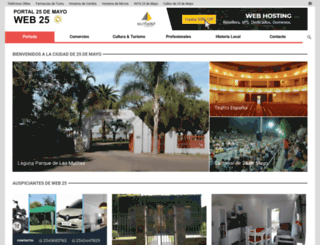 web25.com.ar screenshot