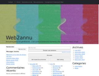 web2annu.net screenshot