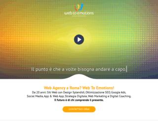 web2emotions.com screenshot